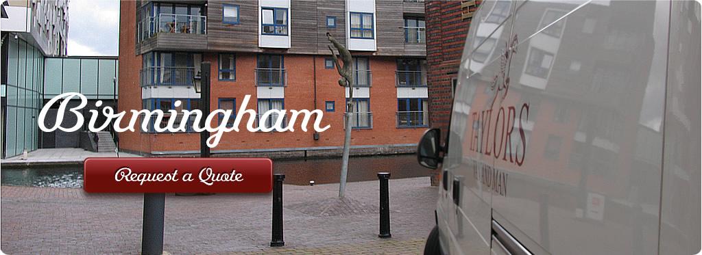 Man and Van London Birmingham main image
