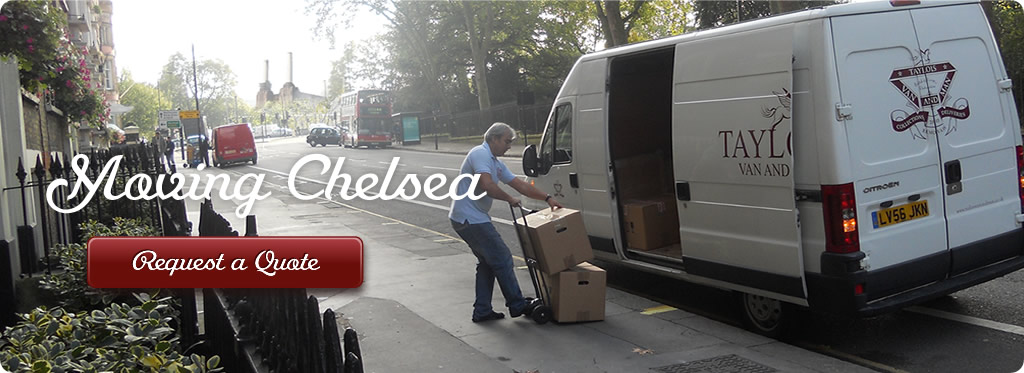 Man and van Chelsea small removals image