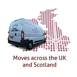 'Man and Van London Glasgow'