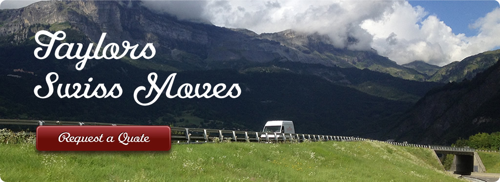 Man and a Van Removals Switzerland
