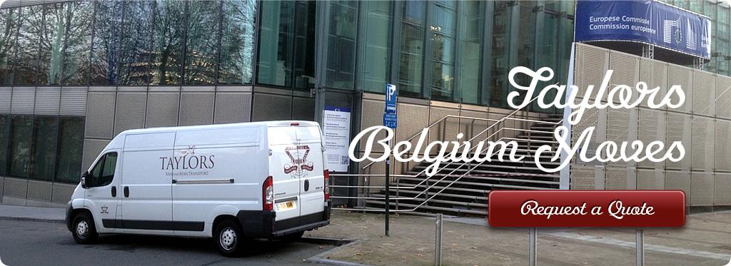 Man and a Van Removals Belgium To UK
