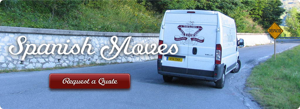 Man and a Van Removals Spain UK